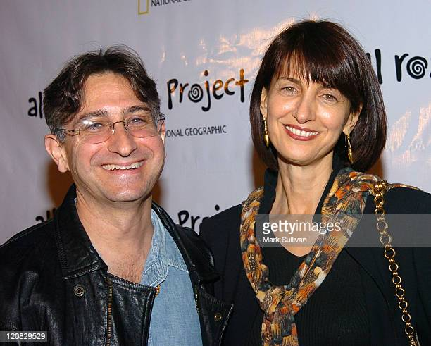 """Adam Leipzig and Ruth Vitale during Opening Night of National Geographic's """"All Roads Film Project"""" Festival at Egyptian Theatre in Hollywood,..."""