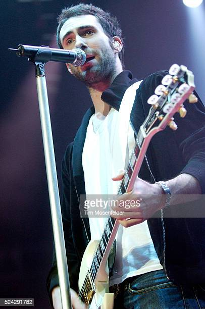 Adam Levine and Maroon 5 perform in support of the Honda Civic Tour 2005 at the HP Pavilion in San Jose