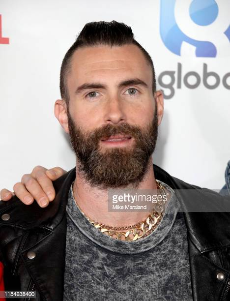 Adam Levine attends the Capital FM Summertime Ball at Wembley Stadium on June 08, 2019 in London, England.