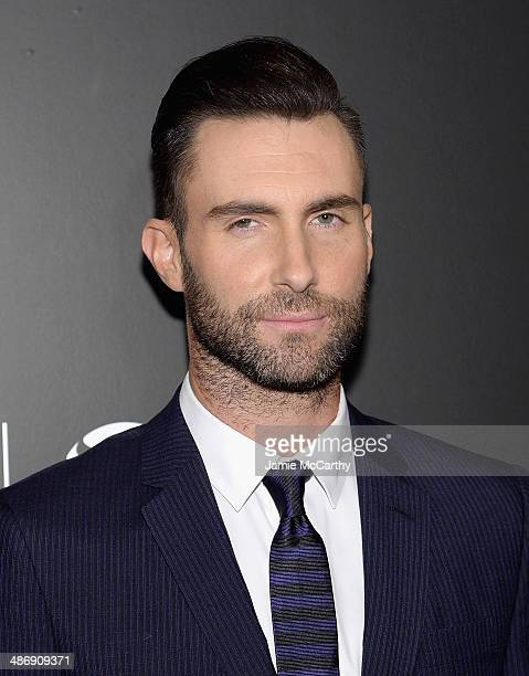 Adam Levine attends the closing night gala premiere of Begin Again during the 2014 Tribeca Film Festival at BMCC Tribeca PAC on April 26 2014 in New...