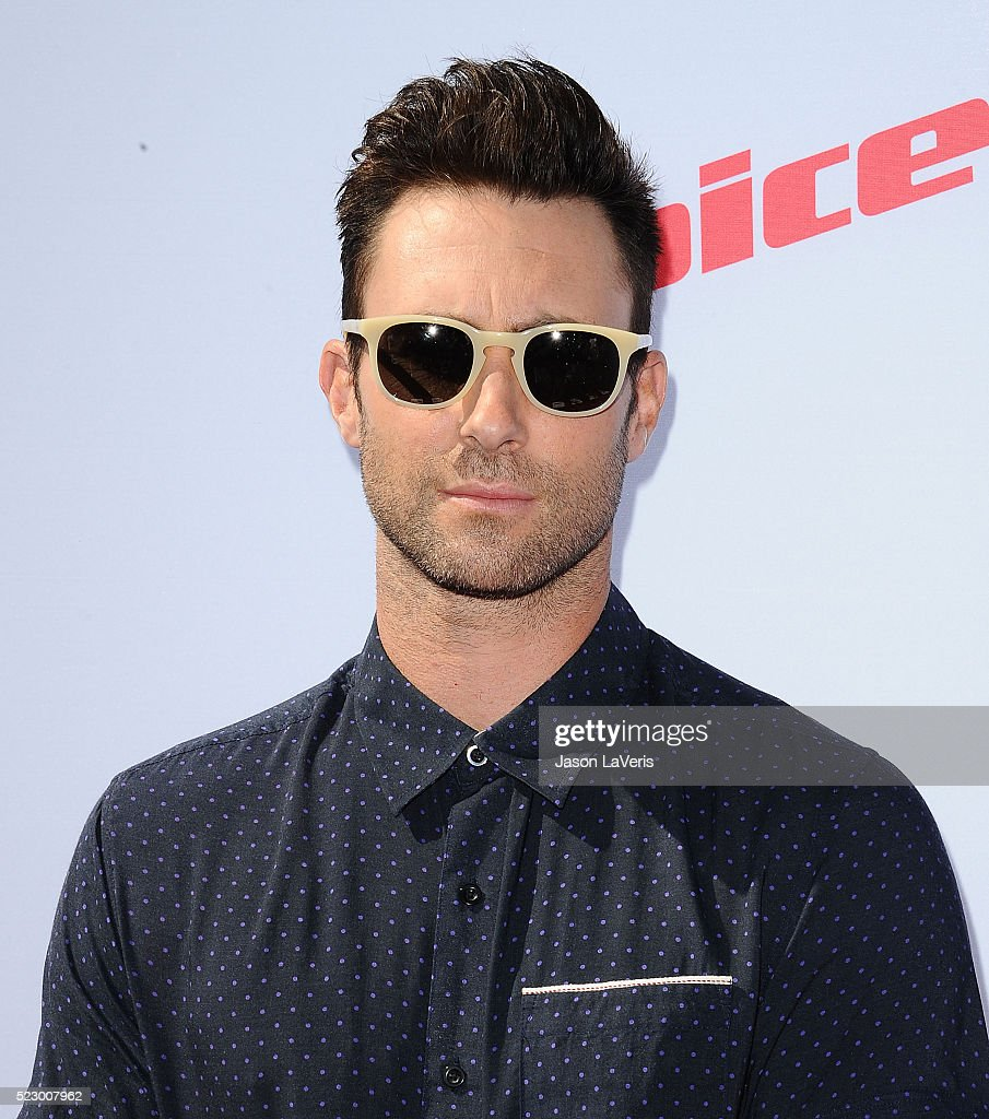 Adam Levine attends 'The Voice' Karaoke For Charity at HYDE Sunset: Kitchen + Cocktails on April 21, 2016 in West Hollywood, California.