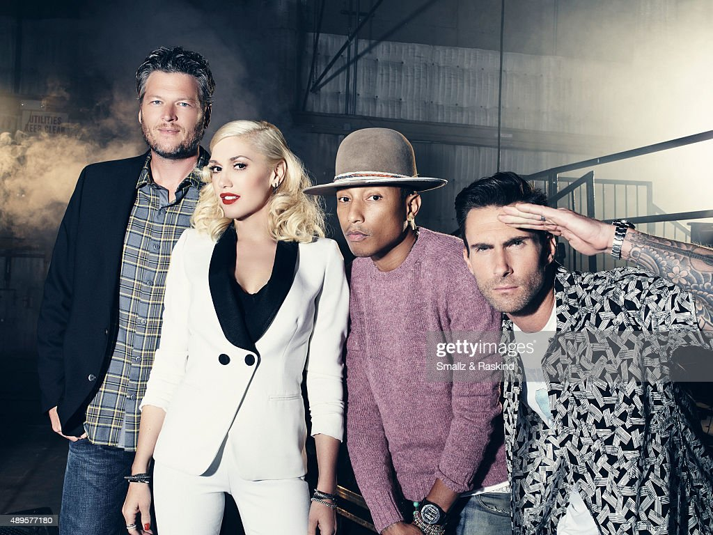 Cast of the Voice, Billboard, September 30, 2014