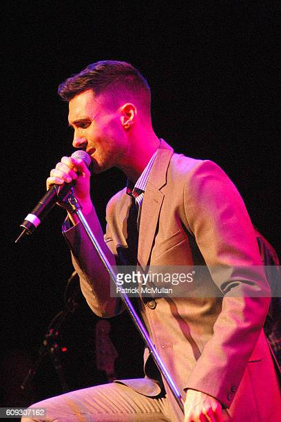 Adam Levine of Maroon 5 attends Ryan Seacrest hosts an Intimate Performance by MAROON 5 at House of Blues on July 9 2007 in West Hollywood CA