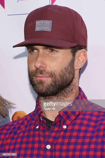 Adam Levine of Maroon 5 attends Z100's Jingle Ball at Madison Square Garden on December 12 2014 in New York City