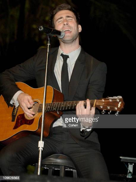 Adam Levine of Maroon 5 during The City of Hope's Spirit of Life Award Gala Honoring BMG US President Charles Goldstuck at Pacific Design Center in...