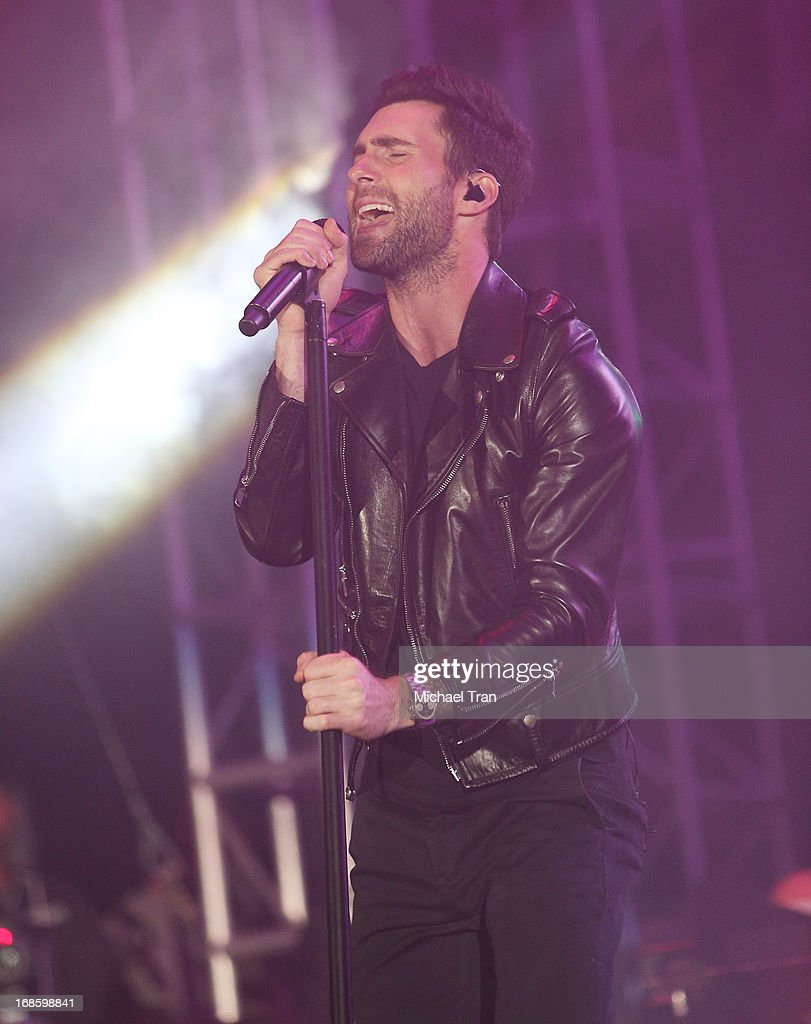 Adam Levine of Maroon 5 performs onstage during the 2013 KIIS FM's Wango Tango held at The Home Depot Center on May 11, 2013 in Carson, California.