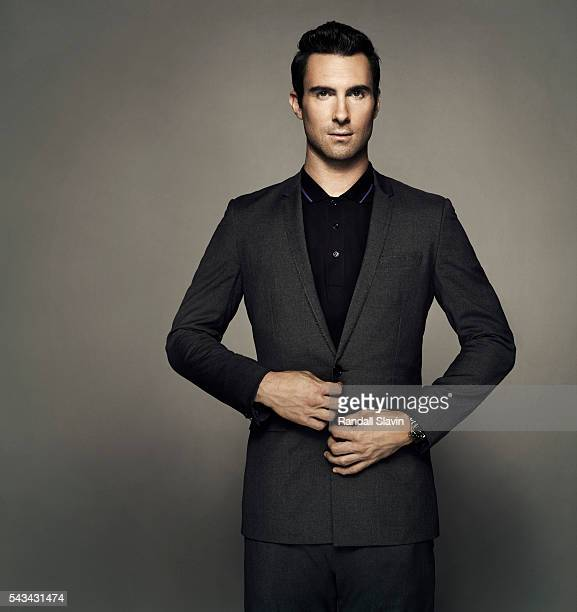 Adam Levine was photographed for GQ on July 29 2012 in Los Angeles California