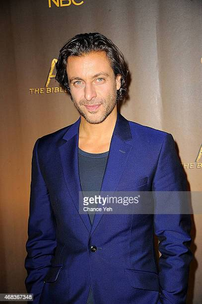 Adam Levy attends 'AD The Bible Continues' New York Premiere Reception at The Highline Hotel on March 31 2015 in New York City
