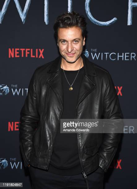 Adam Levy attends the photocall for Netflix's The Witcher Season 1 at the Egyptian Theatre on December 03 2019 in Hollywood California