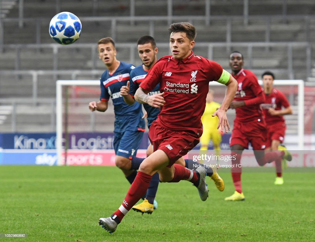 Liverpool v FK Crvena Zvezda - UEFA Youth League Group C : News Photo