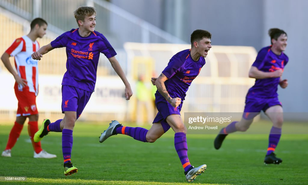 Red Star Belgrade v Liverpool - UEFA Youth League : News Photo
