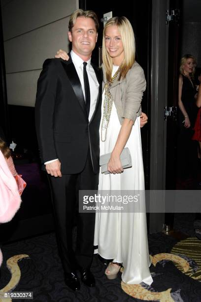 Adam Lippes and Meredith Melling Burke attend NEW YORKERS FOR CHILDREN Spring Dinner Dance Presented by AKRIS at The Mandarin Oriental on April 8...