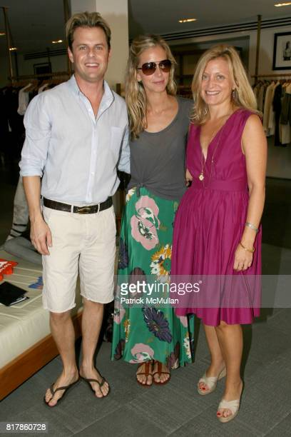 Adam Lippes Meredith Melling Burke and Kim Flaster attend ADAM Loves Dogs at ADAM on September 25 2010 in New York