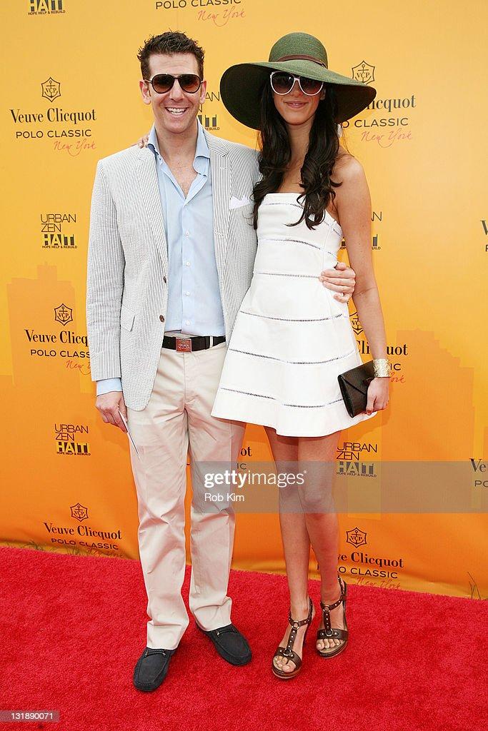 00620371170e6b Adam Lipson and Alexis Parrin attend the 2011 Veuve Clicquot Polo ...
