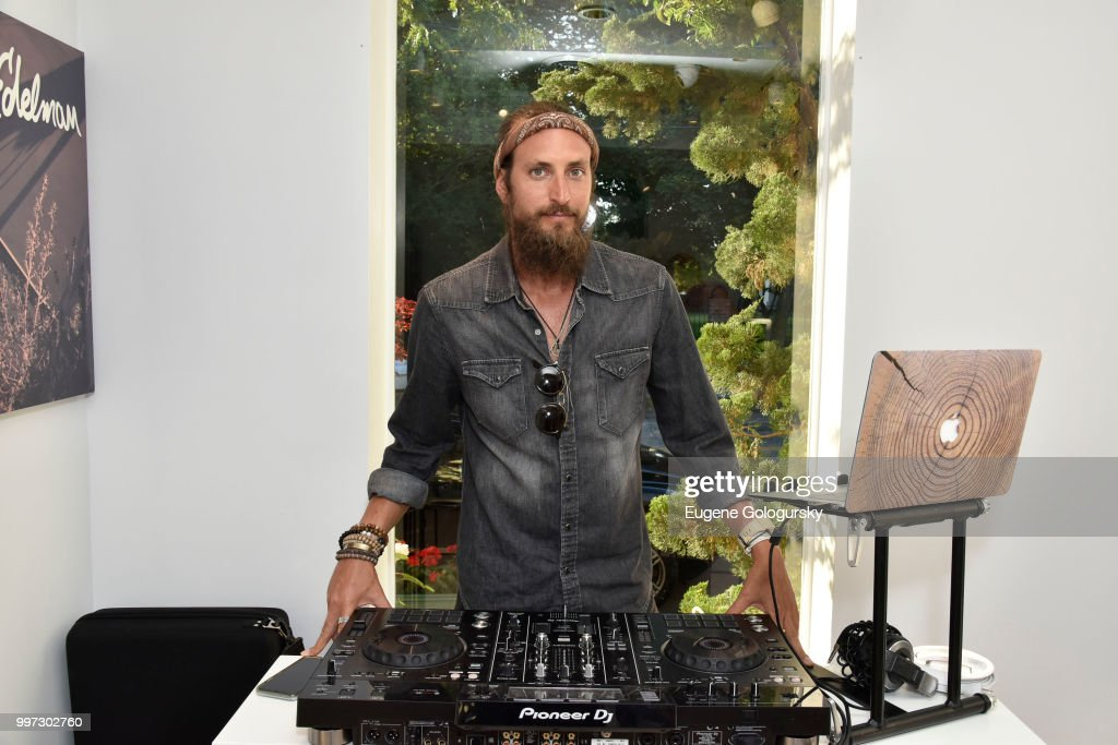 DJ Adam Lipson attends the Modern Luxury + Sam Edelman Summer Fashion Event on July 12, 2018 in Southampton, New York.