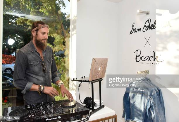 Adam Lipson attends the Modern Luxury Sam Edelman Summer Fashion Event on July 12 2018 in Southampton New York