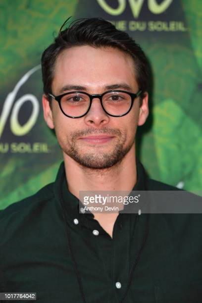 Adam Long attends the Cirque Du Soleil's OVO Premiere at The Liverpool Echo Arena on August 16 2018 in Liverpool England