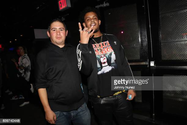 Adam Lublin and Smoke Purpp attend the ASAP Mob Album Release Show at Highline Ballroom on August 24 2017 in New York City