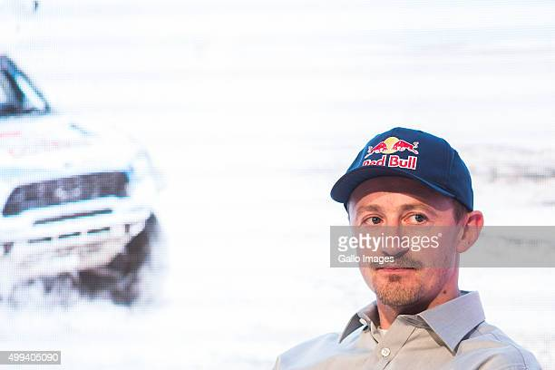 Adam Malysz attends the ORLEN Team press conference on November 30 2015 in Warsaw Poland ORLEN Team will be taking part in the 2016 Dakar Rally