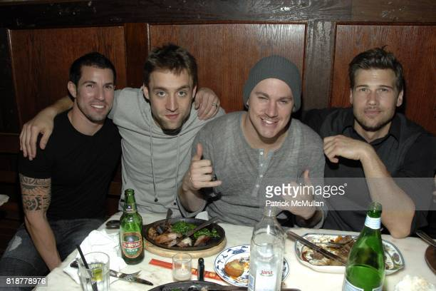 Adam Martinzano Reid Carolin Channing Tatum and Nick Zano attend Chaning Tatum's 30th birthday party hosted by Neil Grayson and Reid Carolin at Macao...