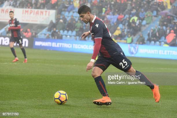 Adam Masina of Bologna FC in action during the serie A match between Spal and Bologna FC at Stadio Paolo Mazza on March 3, 2018 in Ferrara, Italy.