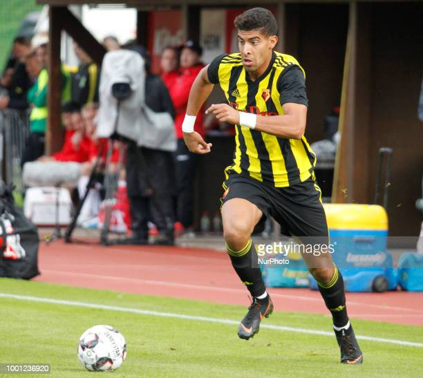 Adam Masina of Watford During Friendly match between FC Koeln and Watford at Kitzbuehel Austria on 17 July 2018