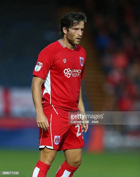 Adam Matthews of Bristol City during the EFL Cup match between Wycombe Wanderers and Bristol City at Adams Park on August 8 2016 in High Wycombe...