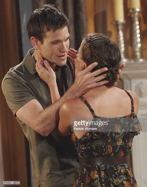 CHILDREN Adam Mayfield and Melissa Claire Egan in a scene that begins airing the week of June 28 2010 on Walt Disney Television via Getty Images...