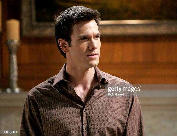 """Adam Mayfield in a scene that airs the week of February 15, 2010 on Walt Disney Television via Getty Images Daytime's """"All My Children."""" """"All My..."""
