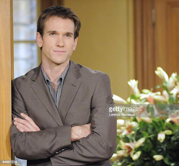 """Adam Mayfield in a scene that airs the week of January 2010 on Walt Disney Television via Getty Images Daytime's """"All My Children"""". """"All My Children""""..."""