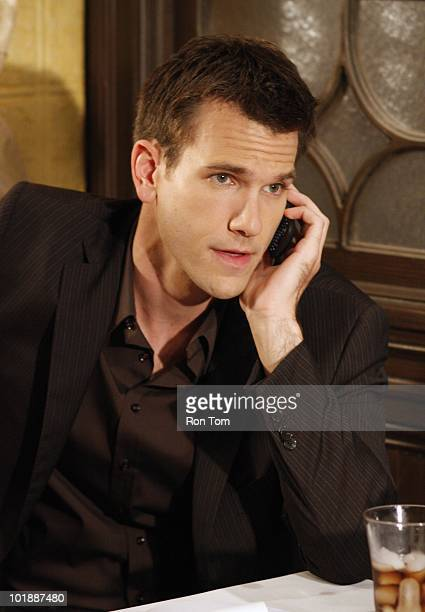 """Adam Mayfield in a scene that airs the week of June 14, 2010 on Walt Disney Television via Getty Images Daytime's """"All My Children"""". """"All My..."""
