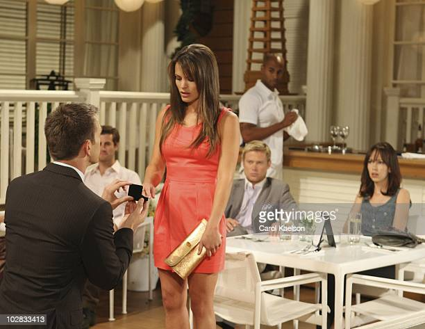Adam Mayfield , Melissa Claire Egan , Jacob Young and Brittany Allen in a scene that airs the week of July 19, 2010 on Walt Disney Television via...