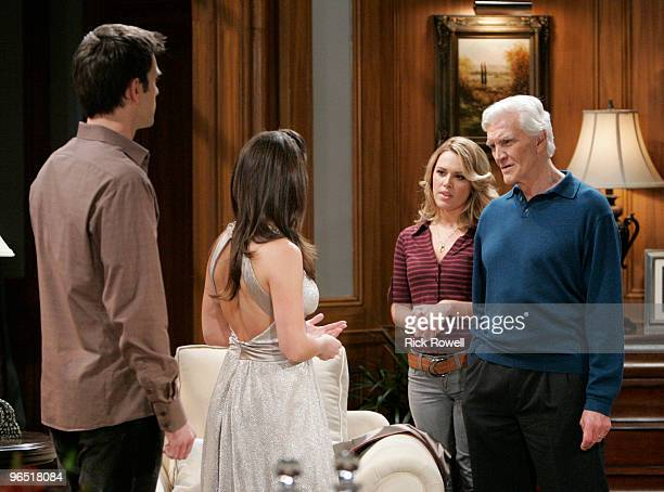 Adam Mayfield , Melissa Claire Egan , Natalie Hall and David Canary in a scene that airs the week of February 15, 2010 on Walt Disney Television via...