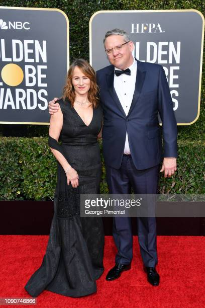 Adam McKay and Shira Piven attend the 76th Annual Golden Globe Awards held at The Beverly Hilton Hotel on January 06 2019 in Beverly Hills California