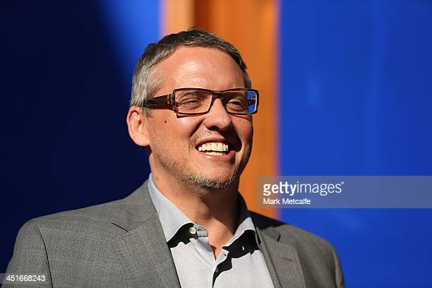 Adam McKay arrives at the 'Anchorman 2 The Legend Continues' Australian premiere on November 24 2013 in Sydney Australia