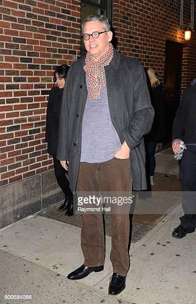Adam McKay is seen in Midtown on December 9 2015 in New York City