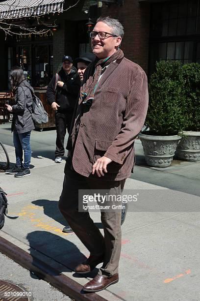 Adam Mckay is seen on April 13 2016 in New York City