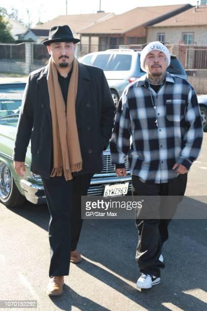 Adam Mendoza and Mario Ponce are seen on December 8 2018 in Los Angeles CA