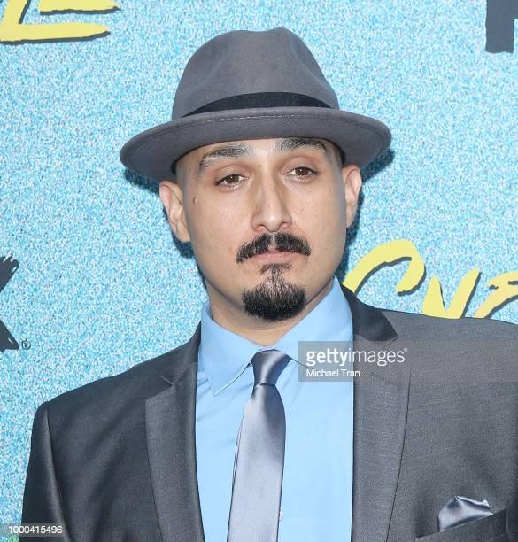 Adam Mendoza arrives to the Los Angeles premiere of FX's 'Snowfall' Season 2 held at Regal Cinemas LA LIVE Stadium 14 on July 16 2018 in Los Angeles...