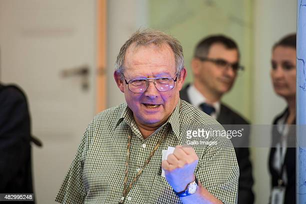 WARSAW POLAND AUGUST 4 Adam Michnik attends the Solidarity Awards Gala on August 4 2015 at the Presidential Palace in Warsaw Poland This year's...