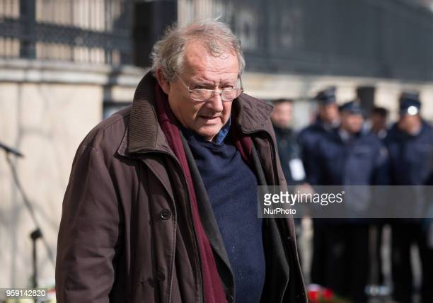 Adam Michnik in Warsaw Poland on 08 March 2018