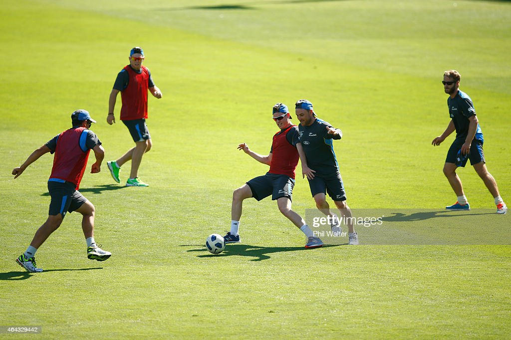 New Zealand Training Session : News Photo