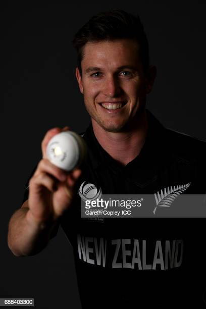 Adam Milne of New Zealand poses for a portrait at the team hotel on May 25 2017 in London England