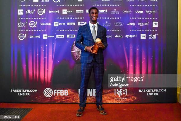 Adam Mokoka during the Trophy Award LNB Basketball at Salle Gaveau on May 16 2018 in Paris France