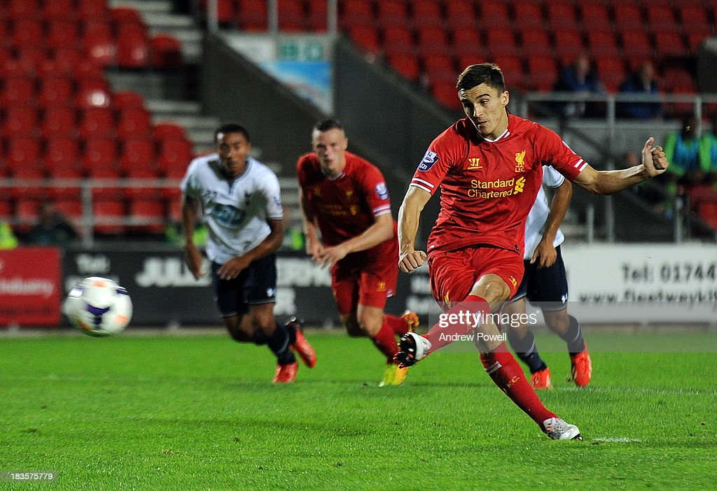 Liverpool U21 v Tottenham Hotspur U21 - Barclays Premier U21 League