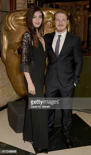Adam Nagaitis and guest attend the British Academy Television Craft Awards at The Brewery on April 26 2015 in London England