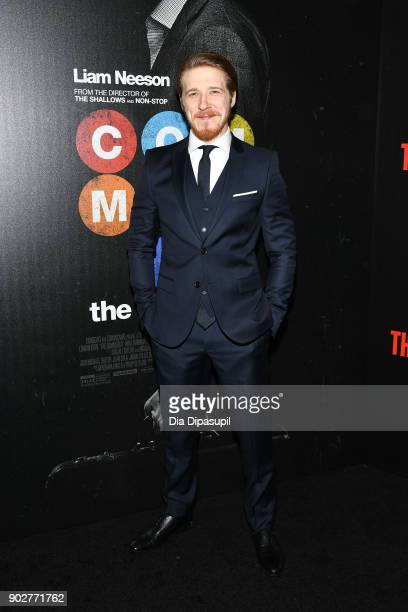 Adam Nagaitis attends The Commuter New York premiere at AMC Loews Lincoln Square on January 8 2018 in New York City