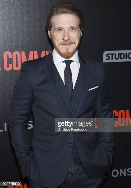 Adam Nagaitis attends 'The Commuter' New York Premiere at AMC Loews Lincoln Square on January 8 2018 in New York City