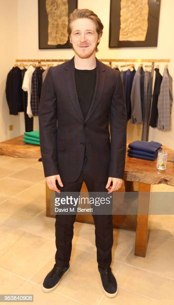 Adam Nagaitis attends the Paul Smith x Tom Hingston 'Progress' collaboration launch party at Paul Smith Albemarle Street on May 2 2018 in London...