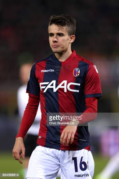 Adam Nagy of Bologna FC during the Serie A match between Bologna FC and AC Milan at Stadio Renato Dall'Ara on February 8 2017 in Bologna Italy